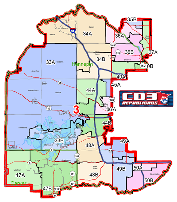 3rd Congressional District Republicans on southeast mn congressional districts, mn house districts, texas congressional districts, minnesota districts, map ca congressional districts, mn state congressional districts, map of mn judicial districts,