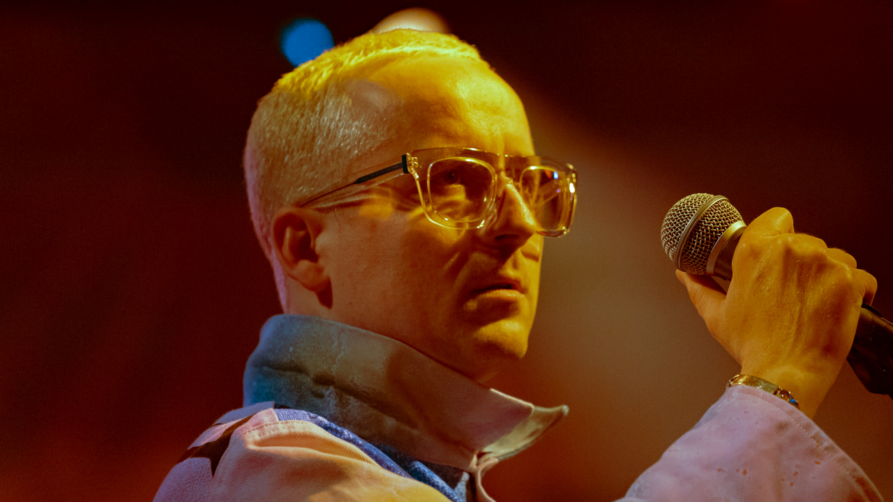 Hot Chip at the El Rey (Photo by ZB Images)