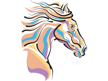 Wall_horse__right