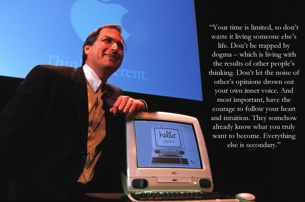 Best Inspirational Quote From Steve Jobs