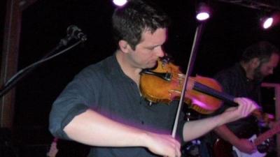 <p>John Cross - Fiddle, Guitar, Vocals</p>