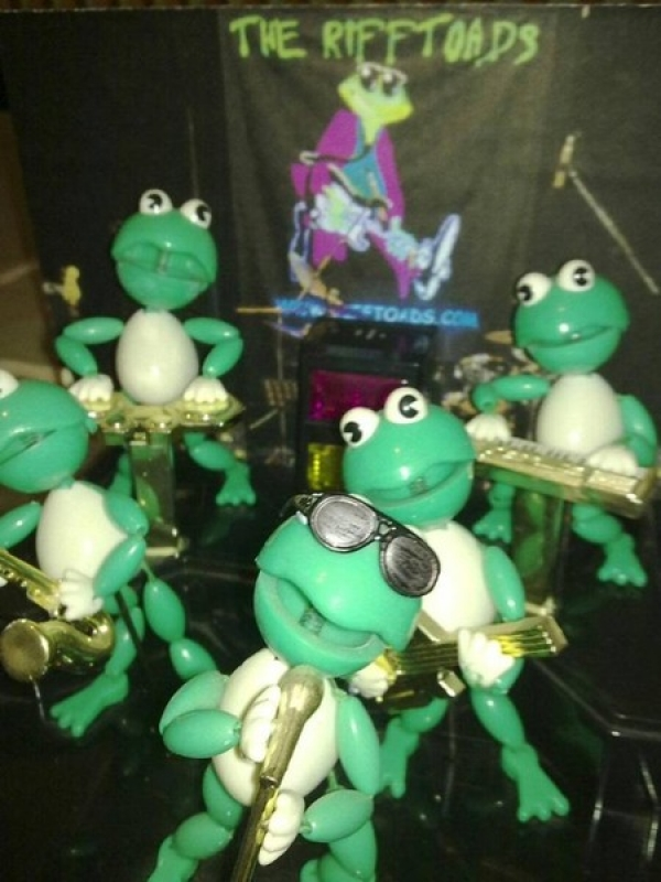 The RiffToads Dep Band - These guys can really make a party Jump ! :-)