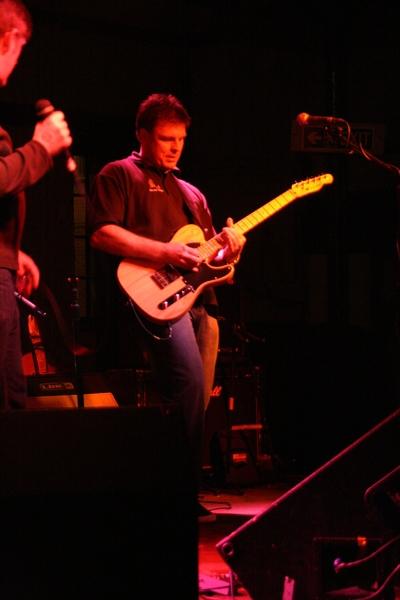 Ian - Band Manager - Vocals & Rhythm Guitar