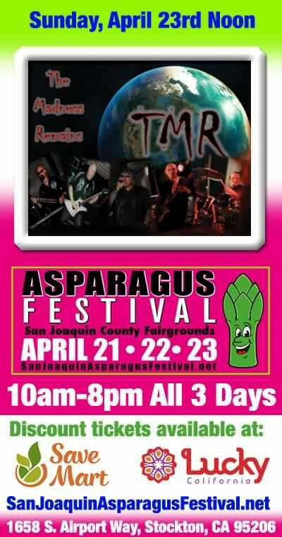 Thank you all who came out in support of Hard Rock Day at the Asparagus Festival.