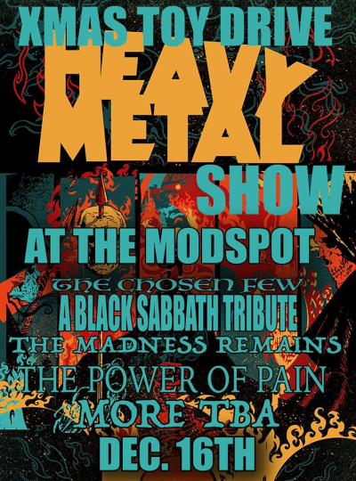 Rock and Metal come together again for another worthy cause!