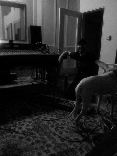 J. LaMacchia of Crooked Man guest performs keys and vocal tracks for the new Eyes Of The Sun session @ Translator Audio