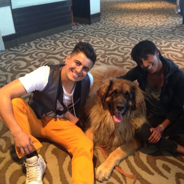 Oliver Miguel, Random Pup & Lisa Jacobs