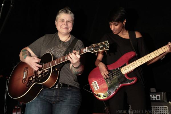 Amy Bishop and Lisa Jacobs