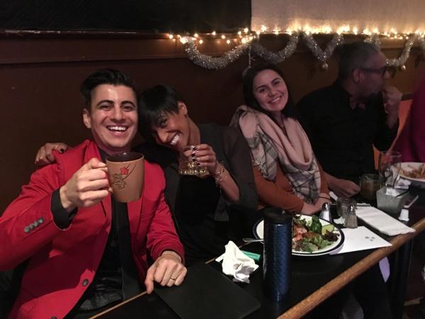 Oliver Miguel, Lisa Jacobs, Rosa & Luis Tovar