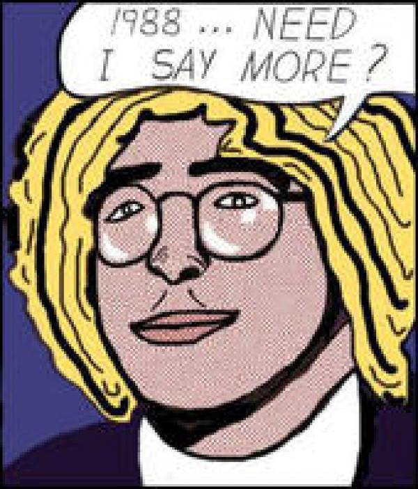 cause everybody needs a Lichtenstein of themselves