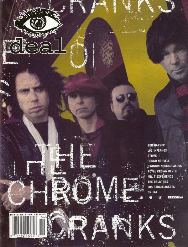 Chrome Cranks - EyeDeal cover shot - '98