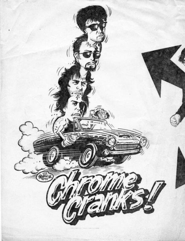Chrome Cranks - vroooom!