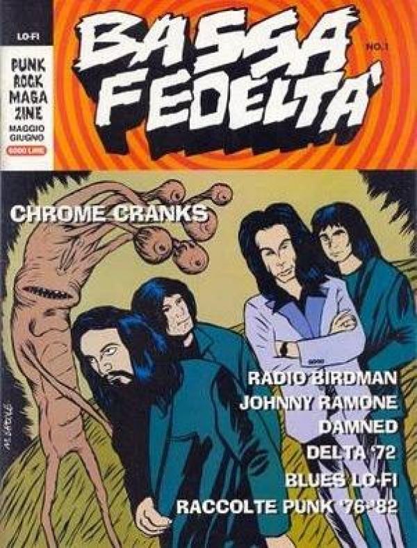 Chrome Cranks Italian Cover - WTF?