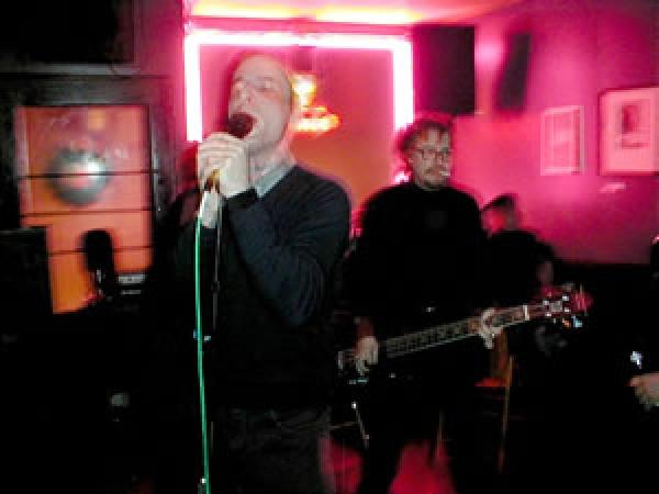 Brass Knuckle Boys - Mark and I  at the Comet, Cincinnati '03