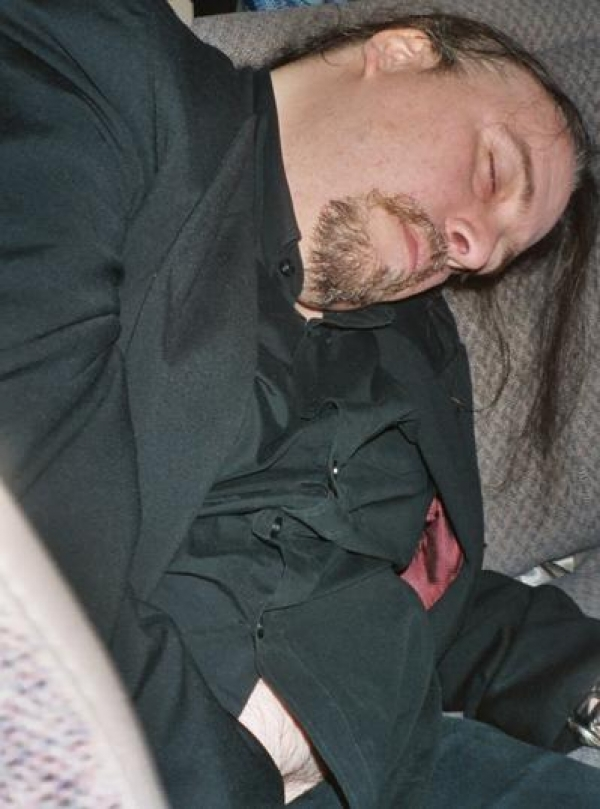 Murder Junkies SF,CA '04 - passed out after show
