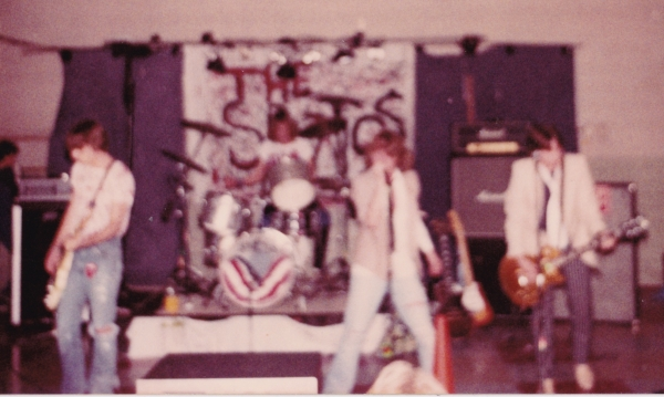 The Spaztics - my first show, Oak Hills H.S. sock hop '81