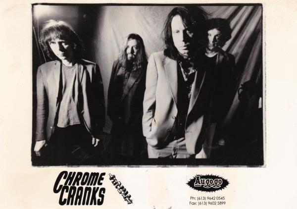 Chrome Cranks Promo Shot - '95