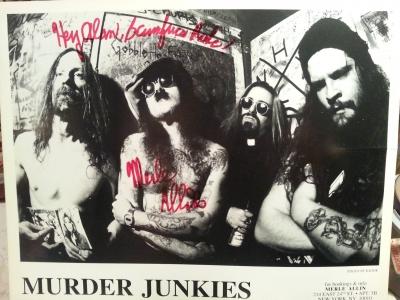 Murder Junkies promo shot '94