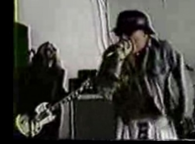 GG Allin and the Murder Junkies sound check NYC '93