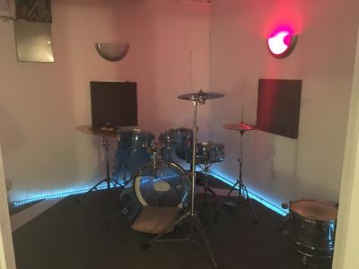 Drum/Vocal Isolation Room