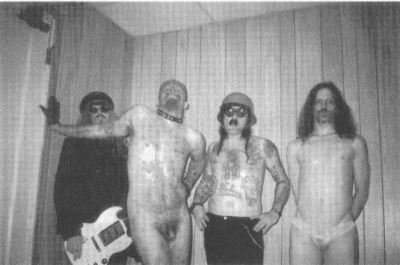 GG Allin and the Murder Junkies promo shot '93