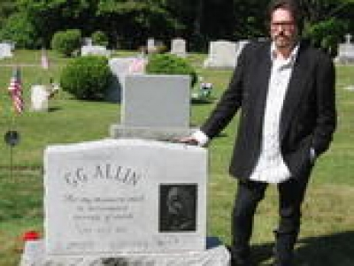 at the launch site of Merle Allin Enterprisess '03