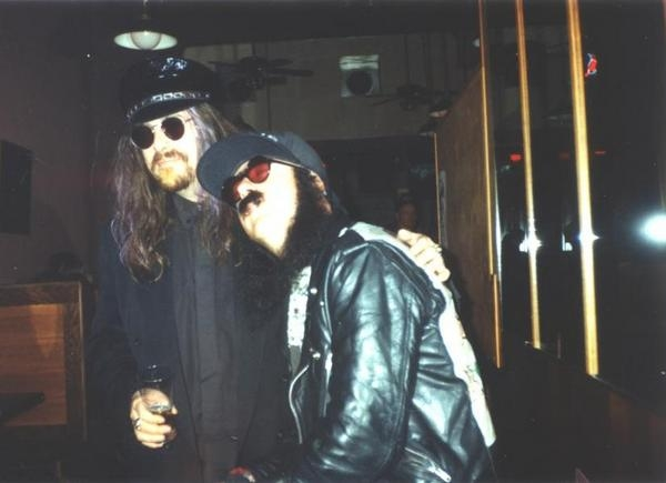 Merle and I in better times - '93