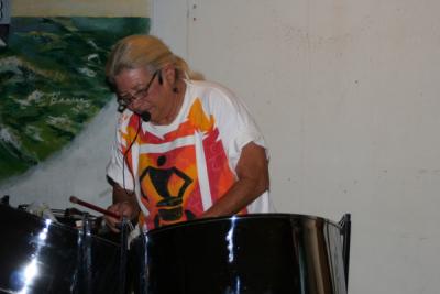 Queen of the steel drums Susan King
