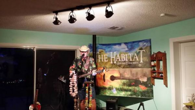 Playing The Habitat House Concert Venue in Bradenton Fl 2016