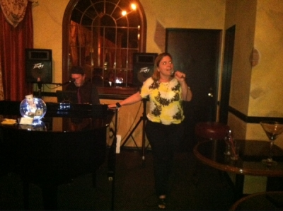 <p>Rosie's beautiful rendition of Danny Boy...highlighted the evening!</p>