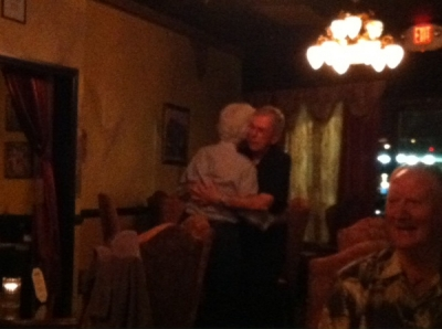 <p>Jack & Jan dancing to Sweet Caroline!</p>
