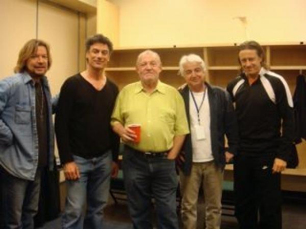 Gene, me, Joe, Jack, Norbert