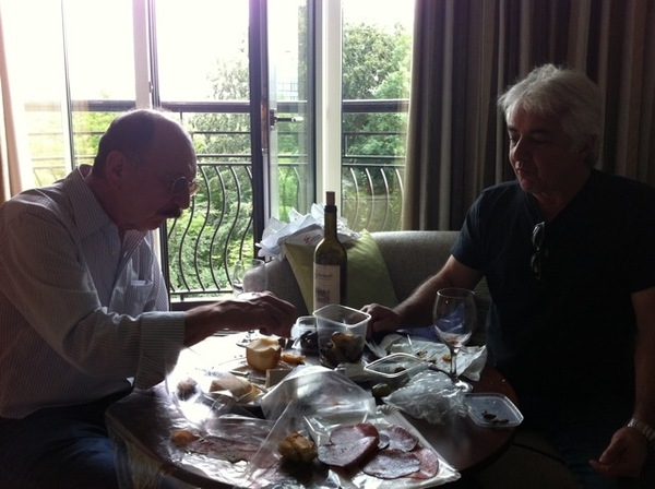 Proper Lunch, Ray and Jack