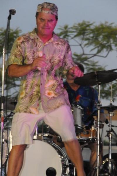 Larry at Stone Crab Festival