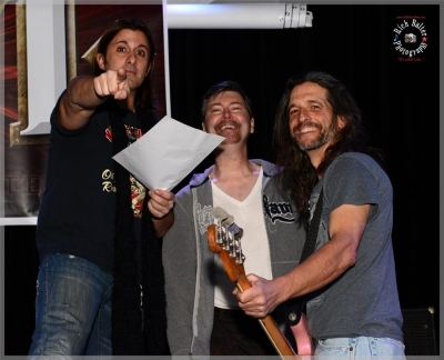 Joey Cassata, Dan Crawford, Duane Lozada