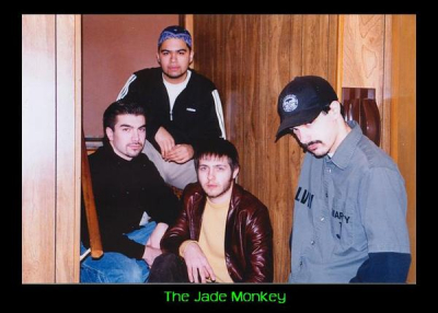 The Jade Monkey with Russ on Bass