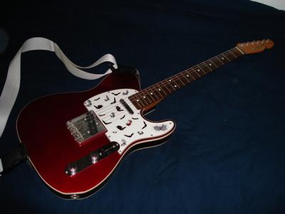 Fender Telecaster Candy Apple Red (Japanese 1985 Fujigen Factory MIJ)