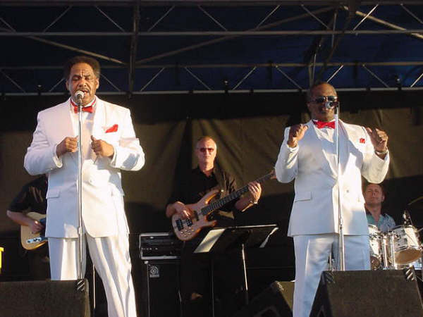 With the Drifters