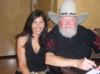 On Charlie Daniels Tour Bus