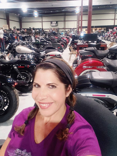 Hanging at the Harley Dealership