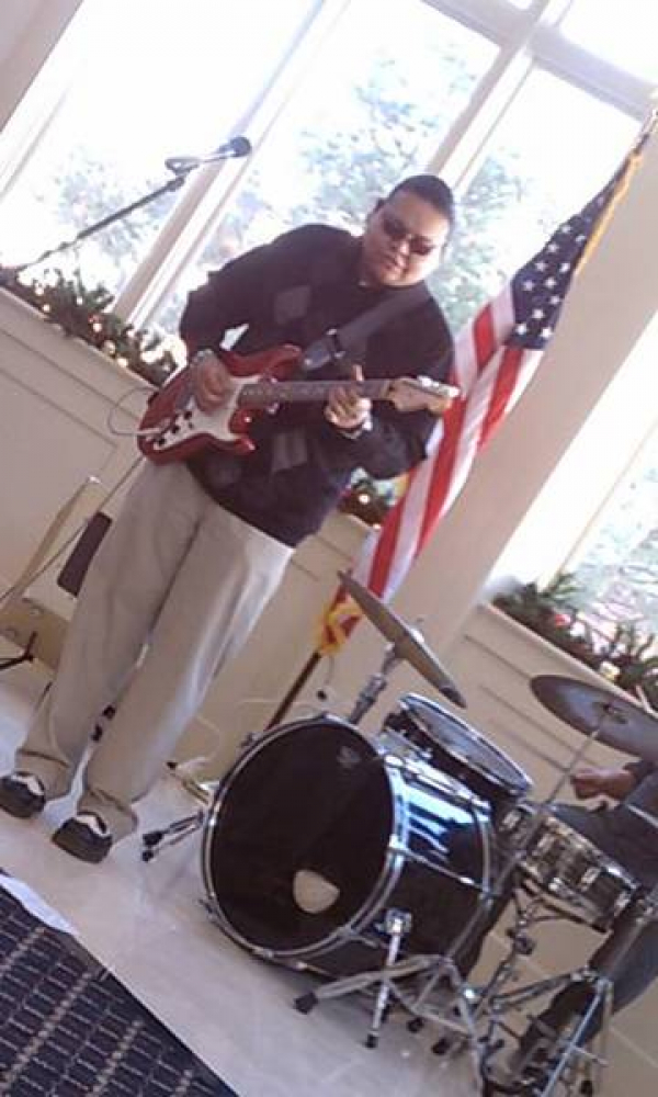 Playing a small gig at the Carriage House - Governor's Mansion Denver, Colorado