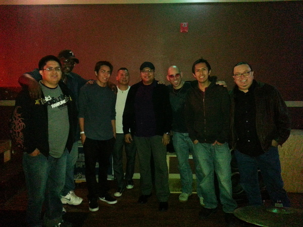 Taken at the Native Guitars Tour with the Jir Project and The Plateros. In the photo from the band are Stanlie Kee and David Lee Rodriguez