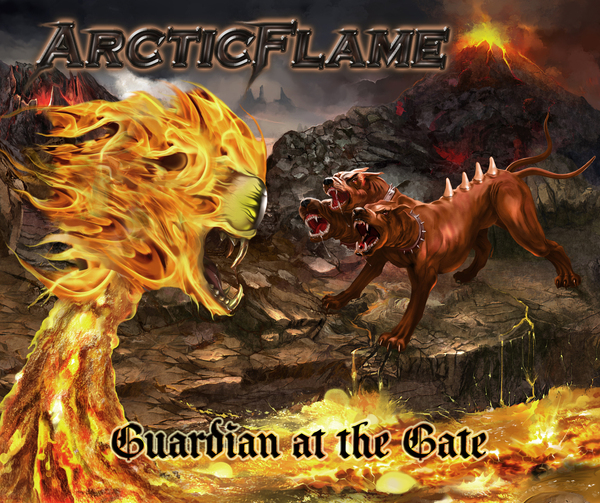 <p>&quot;Guardian at the Gate&quot;. Pure Steel Records, Artist Ric Seven</p>