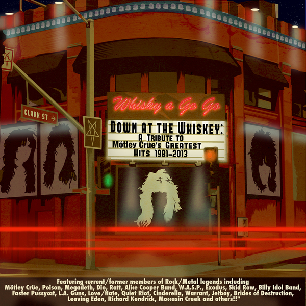 <p>Various Artists - Down at the Whiskey: Tribute to Motley Crue 1981-2003 &nbsp;&nbsp;&nbsp; Versailles Records 2013&nbsp;&nbsp; ArcticFlame performs &quot;Red Hot&quot;</p>