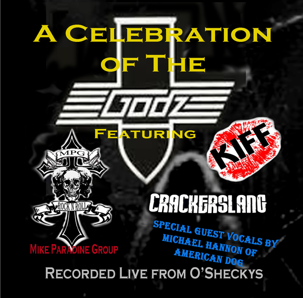 <p>MPG - Celebration of the Godz &nbsp; Gard Dog Productions 2014 &nbsp; &nbsp; &nbsp; &nbsp; MPG performs live doing all the Godz classics for a benefit for Eric Moore at O'Sheckys in Columbus Ohio&nbsp; 2014. Other artists KIFF, Crackerslang and Michael