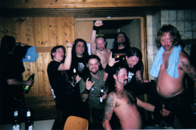 <p>Backstage With WOLF, KIT 7, Dittigheim, Germany</p>