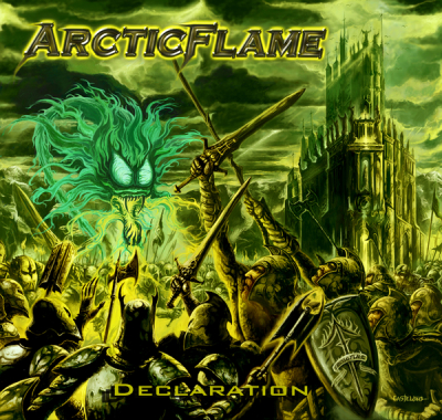 <p>ArcticFlame - Declaration   Pure Steel Records  (Germany)  2008</p>