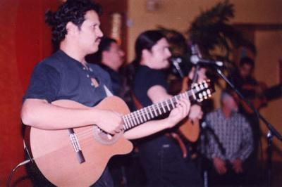 Mark and Marcos Loya jamming