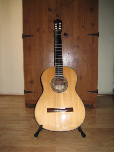 1985 Bob Mattingly classical guitar