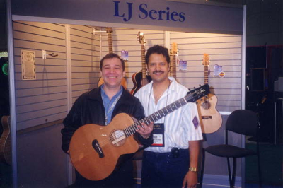 Terry Atkins and Mark of Tacoma guitars